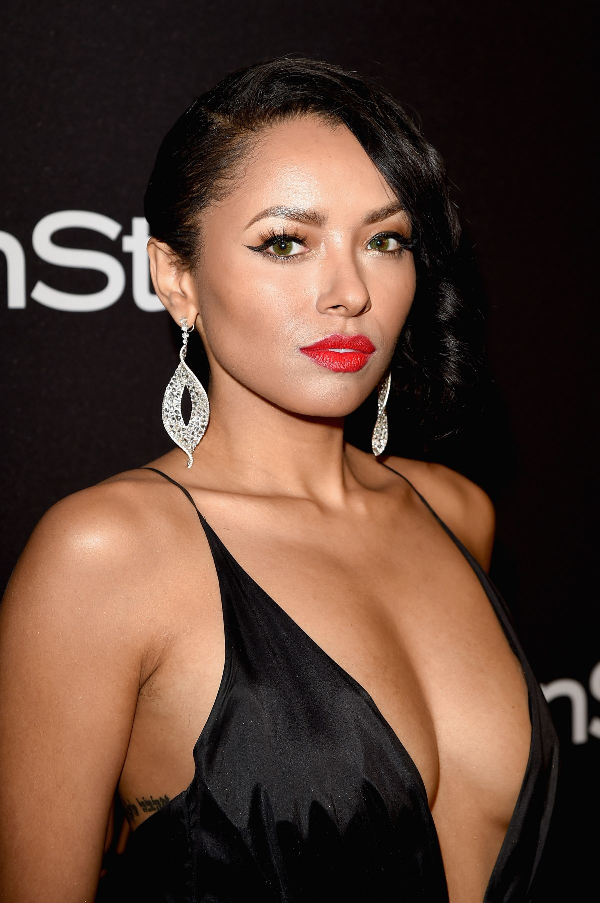 kat graham_KAT GRAHAM at Instyle and Warner Bros. 2016 Golden Globe Awards Post-party in Beverly ...
