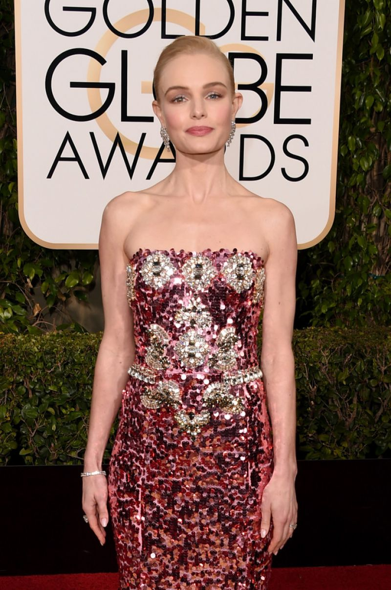 KATE BOSWORTH at 73rd Annual Golden Globe Awards in Beverly Hills 10/01/2016