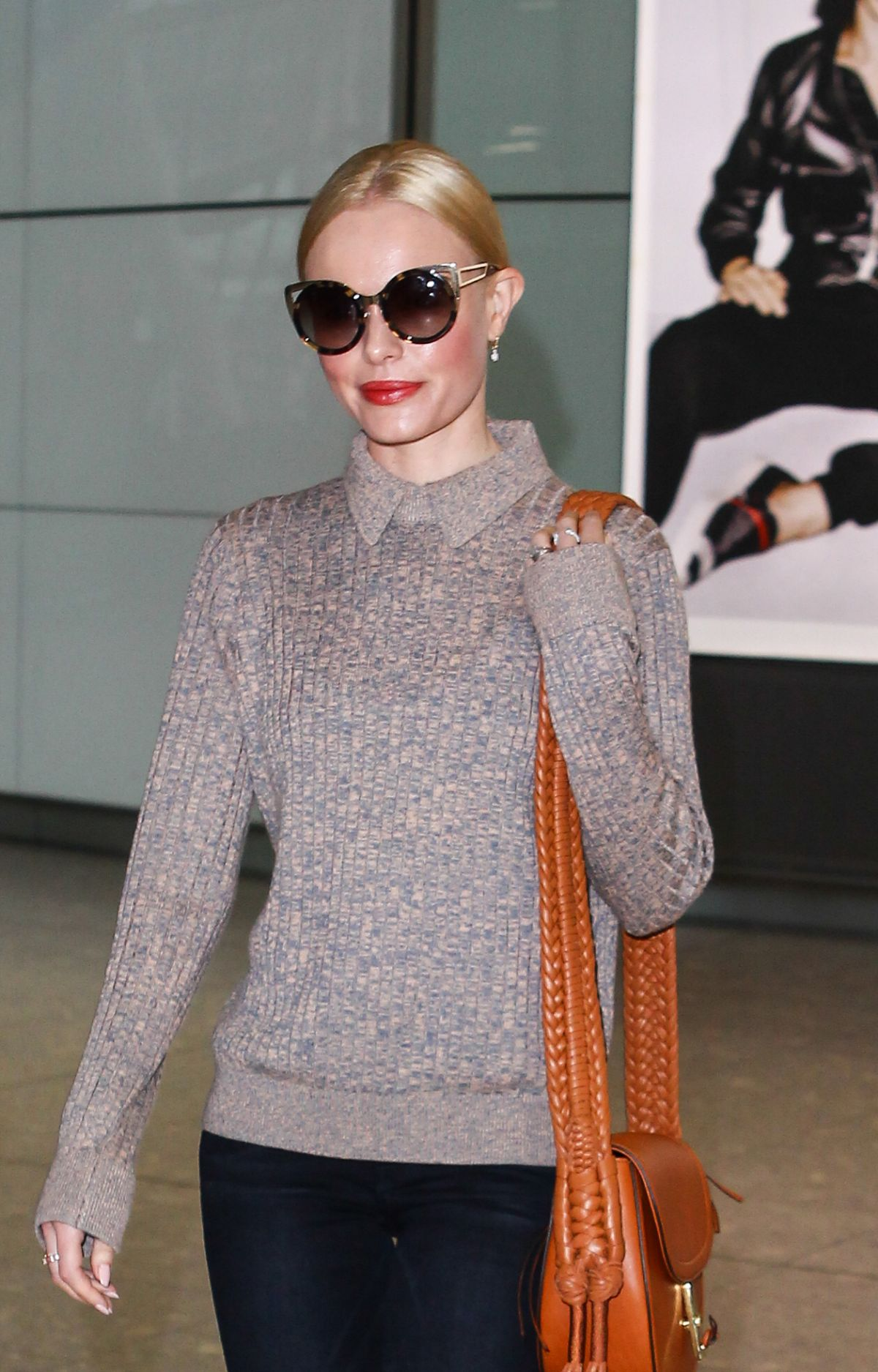 KATE BOSWORTH at Heathrow Airport in London 01/13/2016 ... Kate Bosworth