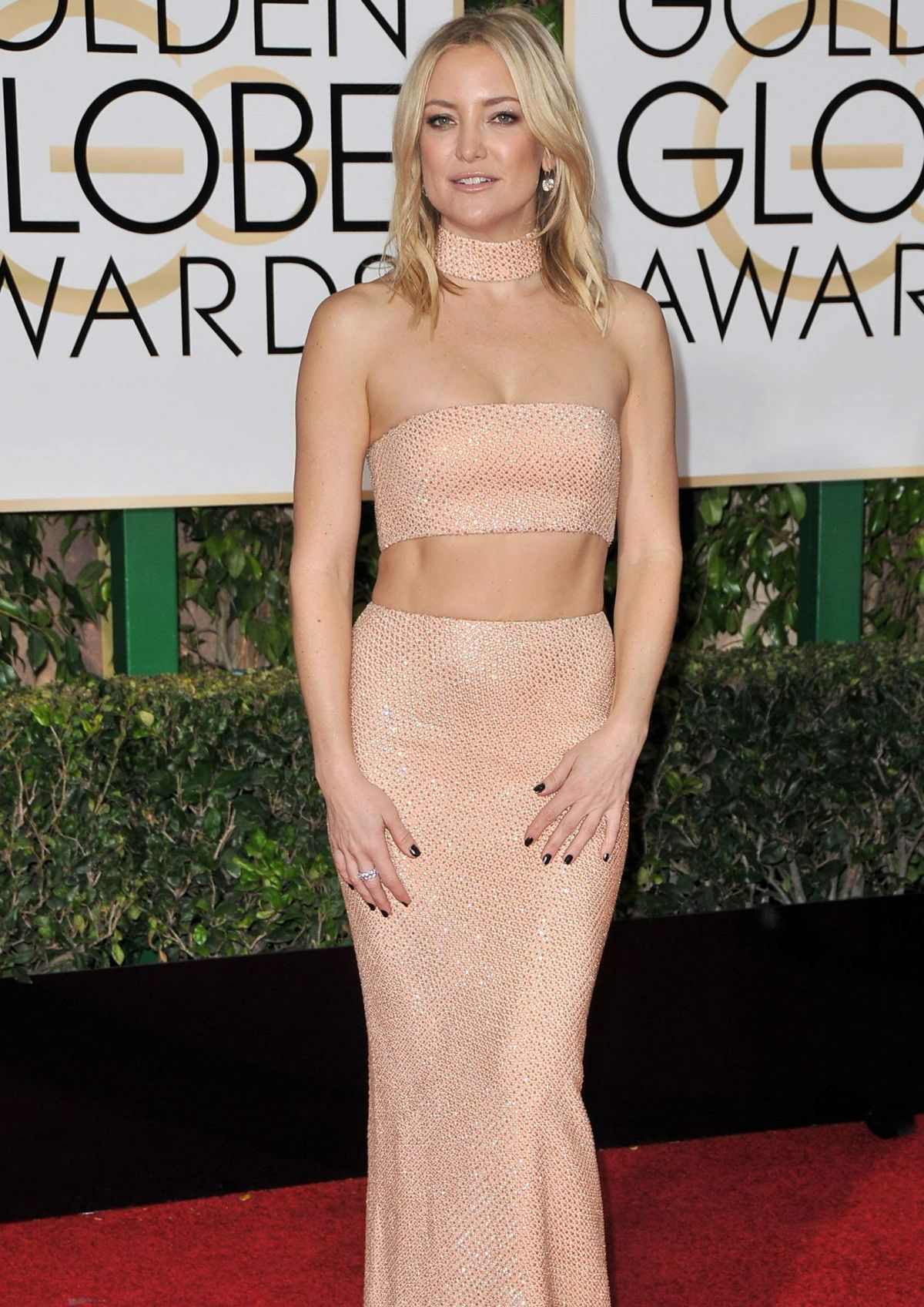 KATE HUDSON at 73rd Annual Golden Globe Awards in Beverly Hills 10/01/2016