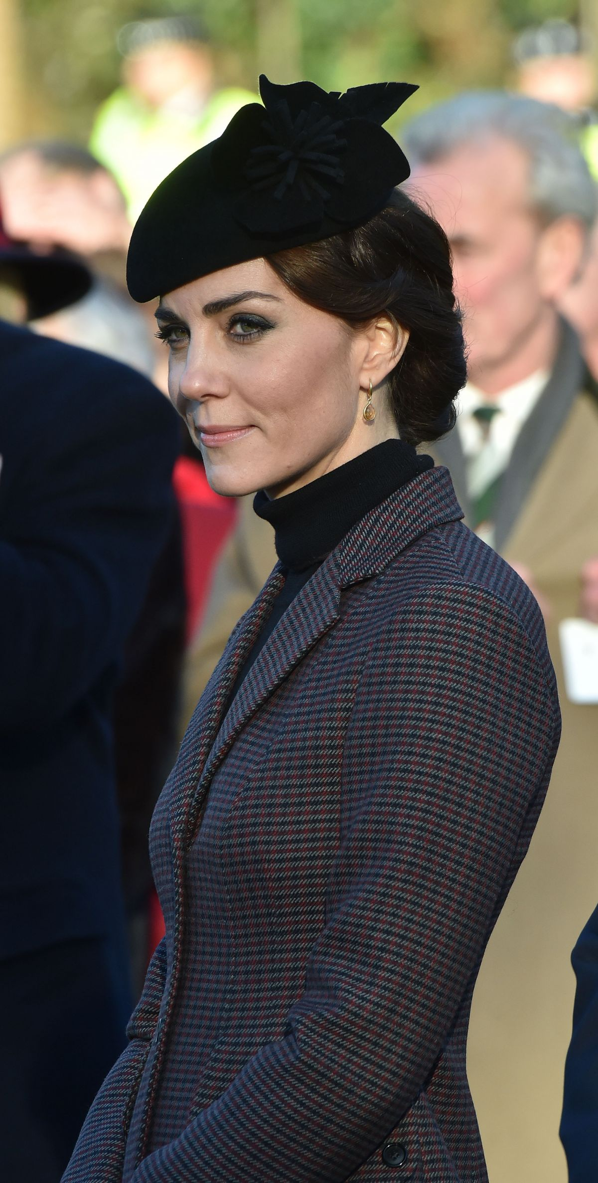 KATE MIDDLETON at a Wreath Laying Ceremony to Mark the 100th Anniversary of the Final Withdrawal from the Gallipoli Peninsula at the War Memorial Cross 01/10/2016