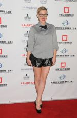 KATHLEEN ROBERTSON at LA Art Show and Los Angeles Fine Art Show's 2016 Opening Night Premiere Party 01/27/2016
