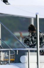 KENDALL JENNER and Harry Styles at a Yacht in St. Barts 12/31/2015