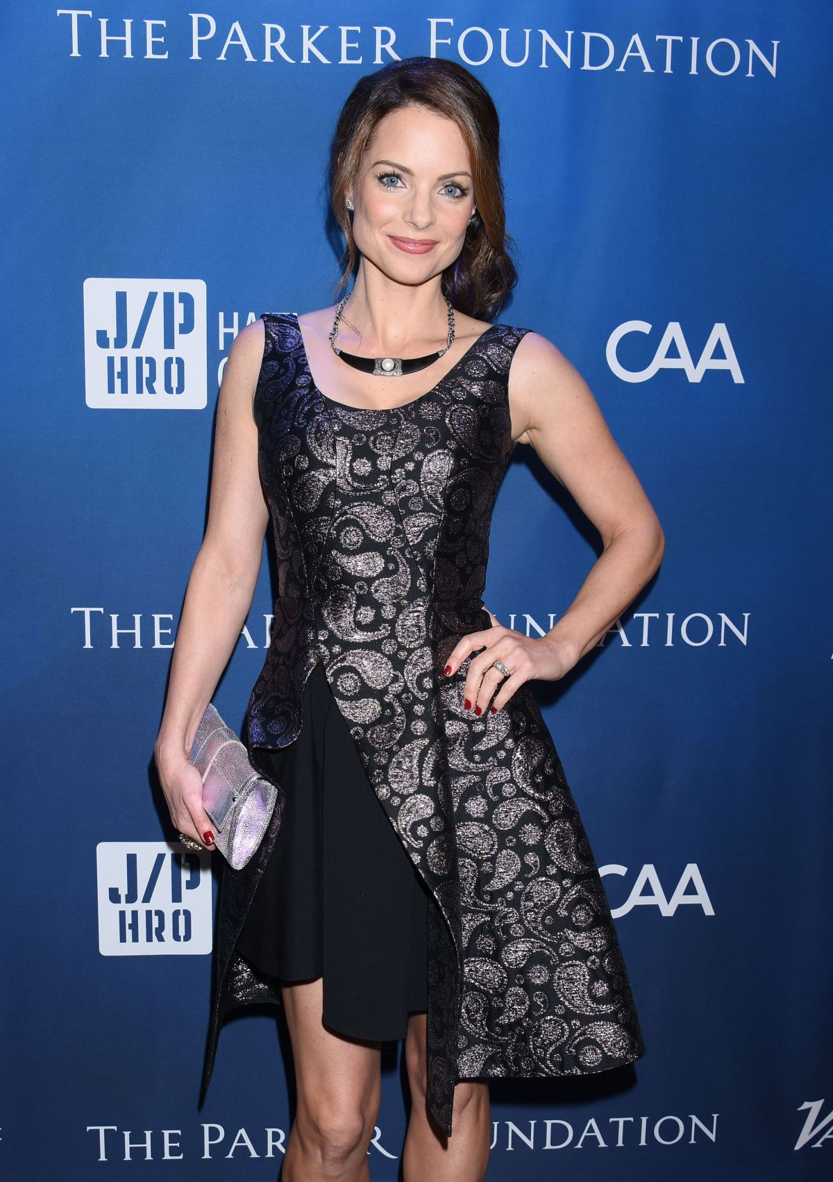 KIMBERLY WILLIAMS-PAISLEY at Gala Benefiting Haitian Relief in Beverly Hills 01/09/2016
