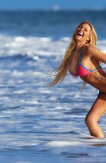 KINDLY MYERS in Bikini at 138 Water Photoshoot on the Beach in Malibu [mq - unknown date]