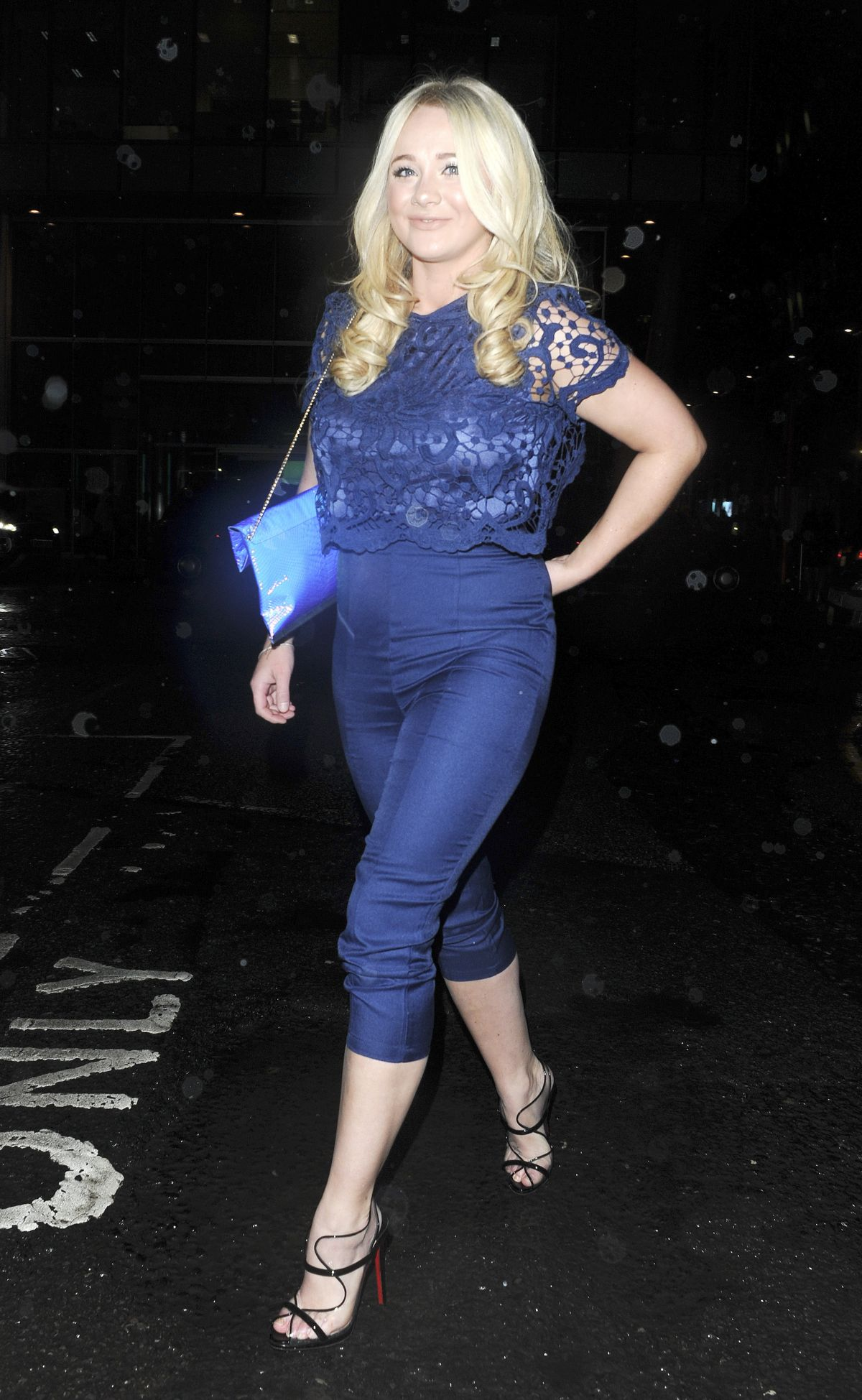 KIRSTY-LEIGH PORTER at Kieron Richardson's 30th Birthday Party in Manchester 01/16/2016