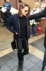 KRISTEN STEWART Out and About in Park City 01/24/2016