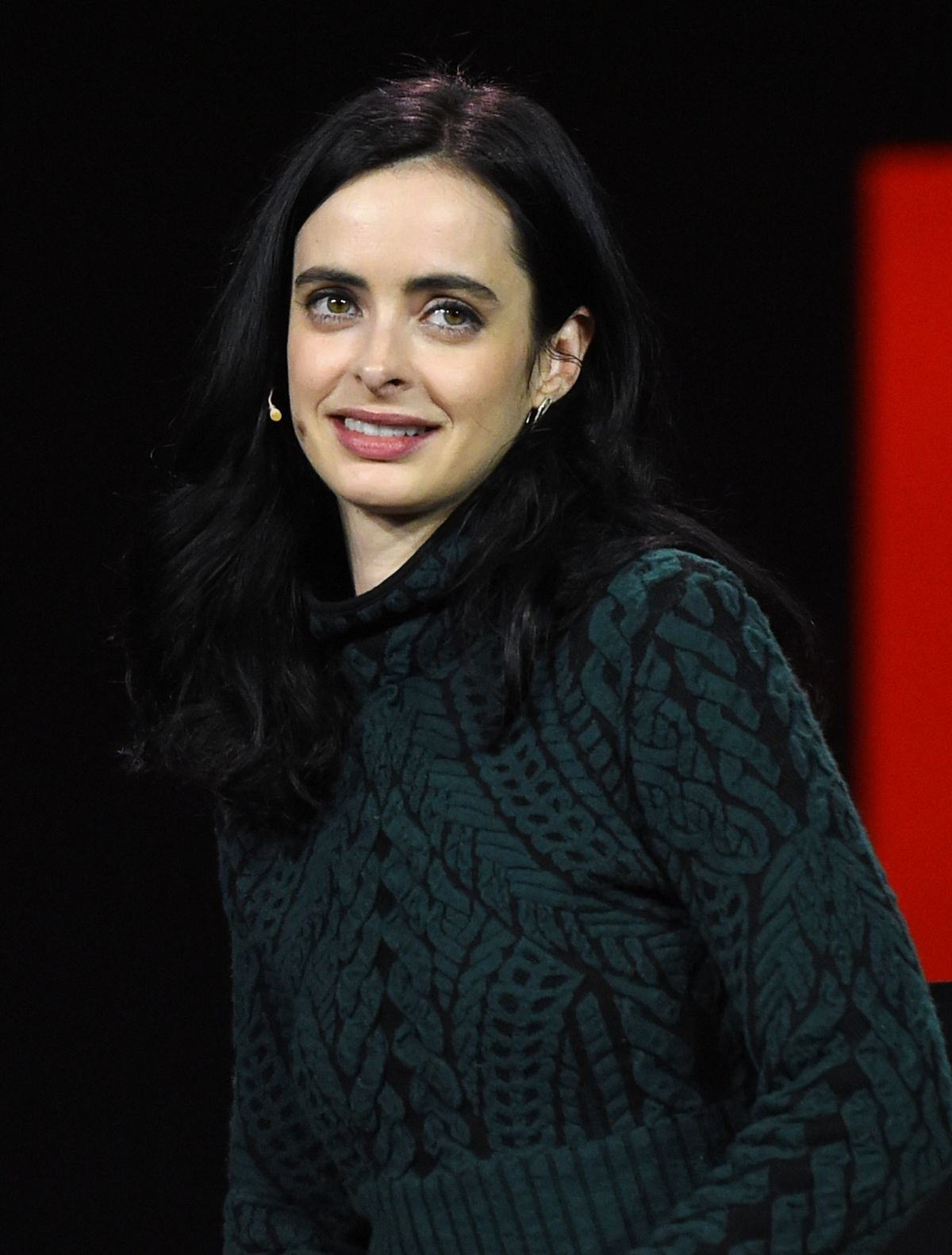 KRYSTEN RITTER at CES 2016 Netflix Panel in Las Vegas 01/06/2016 ...