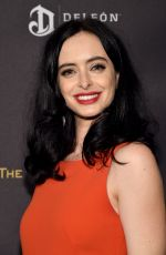 KRYSTEN RITTER at The Weinstein Company & Netflix Golden Globe 2016 Awards After Party in Beverly Hills 01/10/2016