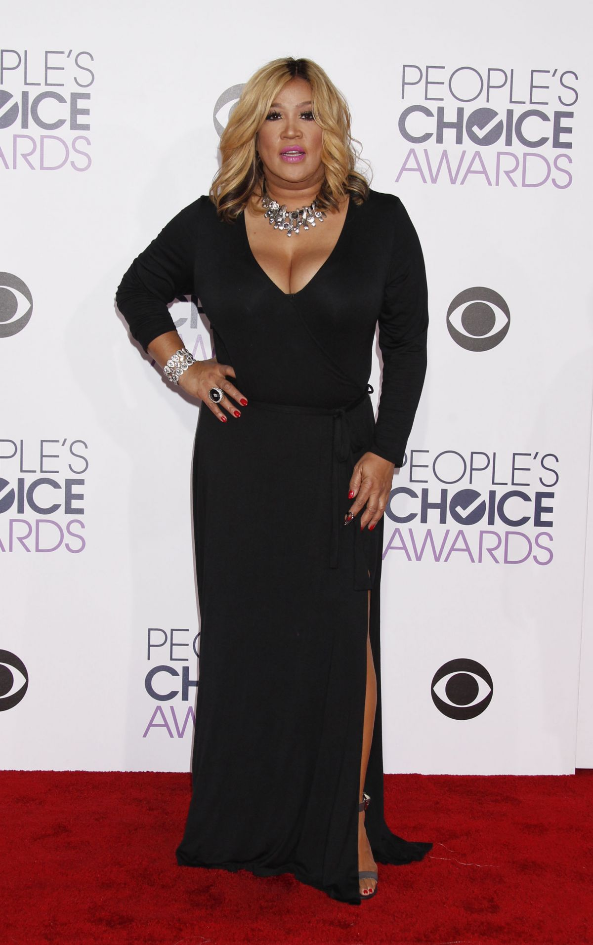 KYM WHITLEY at 2016 People's Choice Awards in Los Angeles 01/06/2016