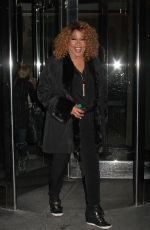 KYM WHITLEY Leaves Her Hotel in New York 01/27/2016