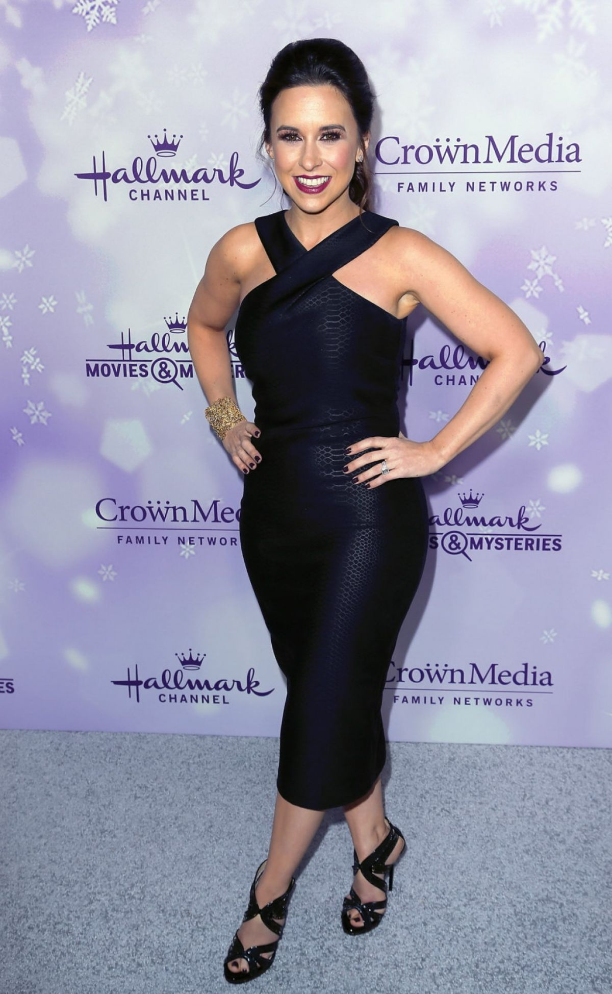 LACEY CHABERT at Hallmark Channel 2016 Winter TCA Tour in Pasadena 01/08/2016