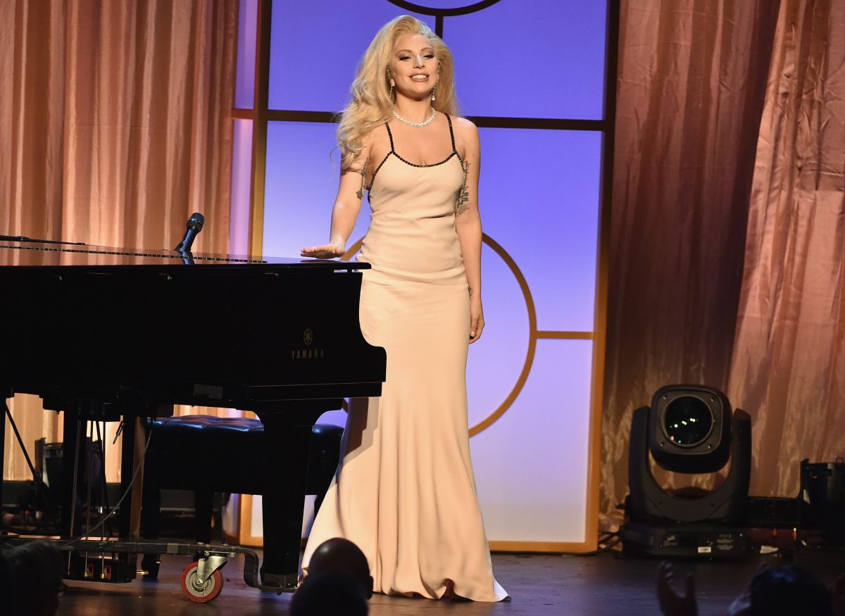 LADY GAGA at 27th Annual Producer Guild of America Awards in Los Angeles 01/24/2016
