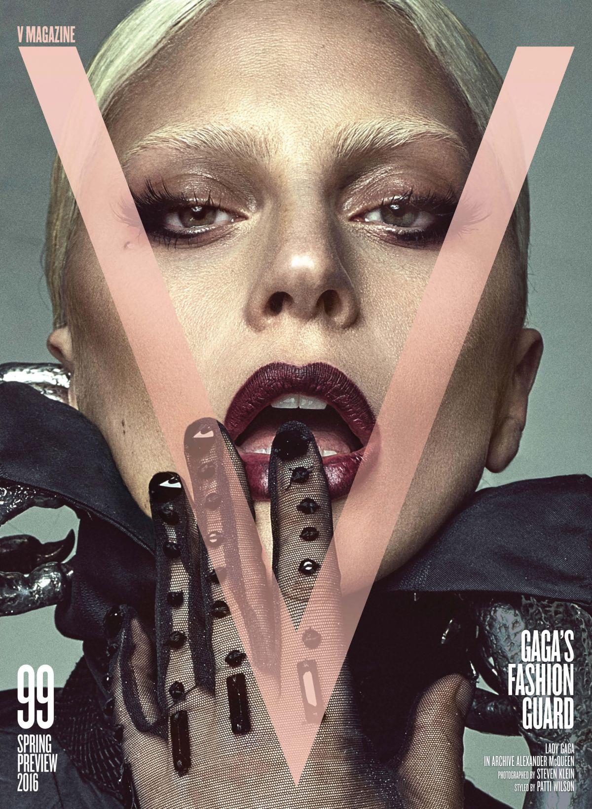 Lady gaga v magazine issue 99