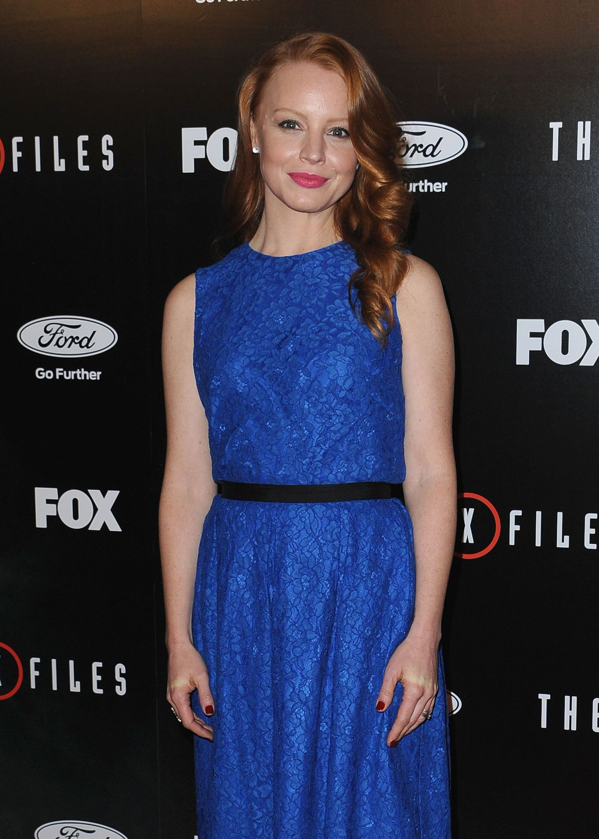 LAUREN AMBROSE at Season Premiere of The X-Files at The California Science Center 01/12/2016