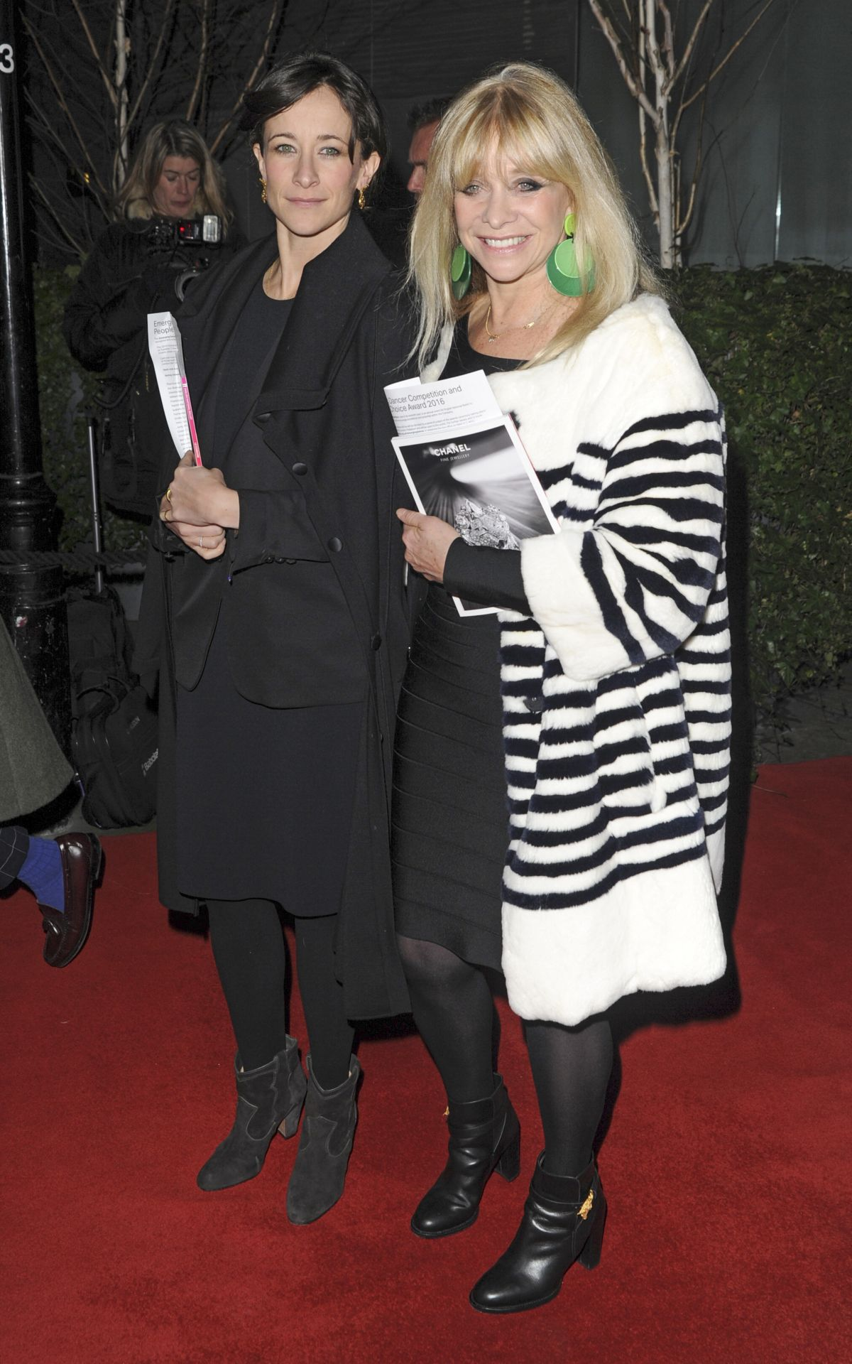 LEAH and JO WOOD at Le Corsaire Ballet VIP Gala Night in London 01/13/2016