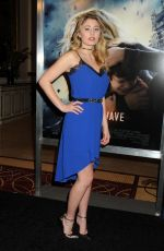 LIA MARIE JOHNSON at The 5tg Wave Premiere in Los Angeles 01/14/2016