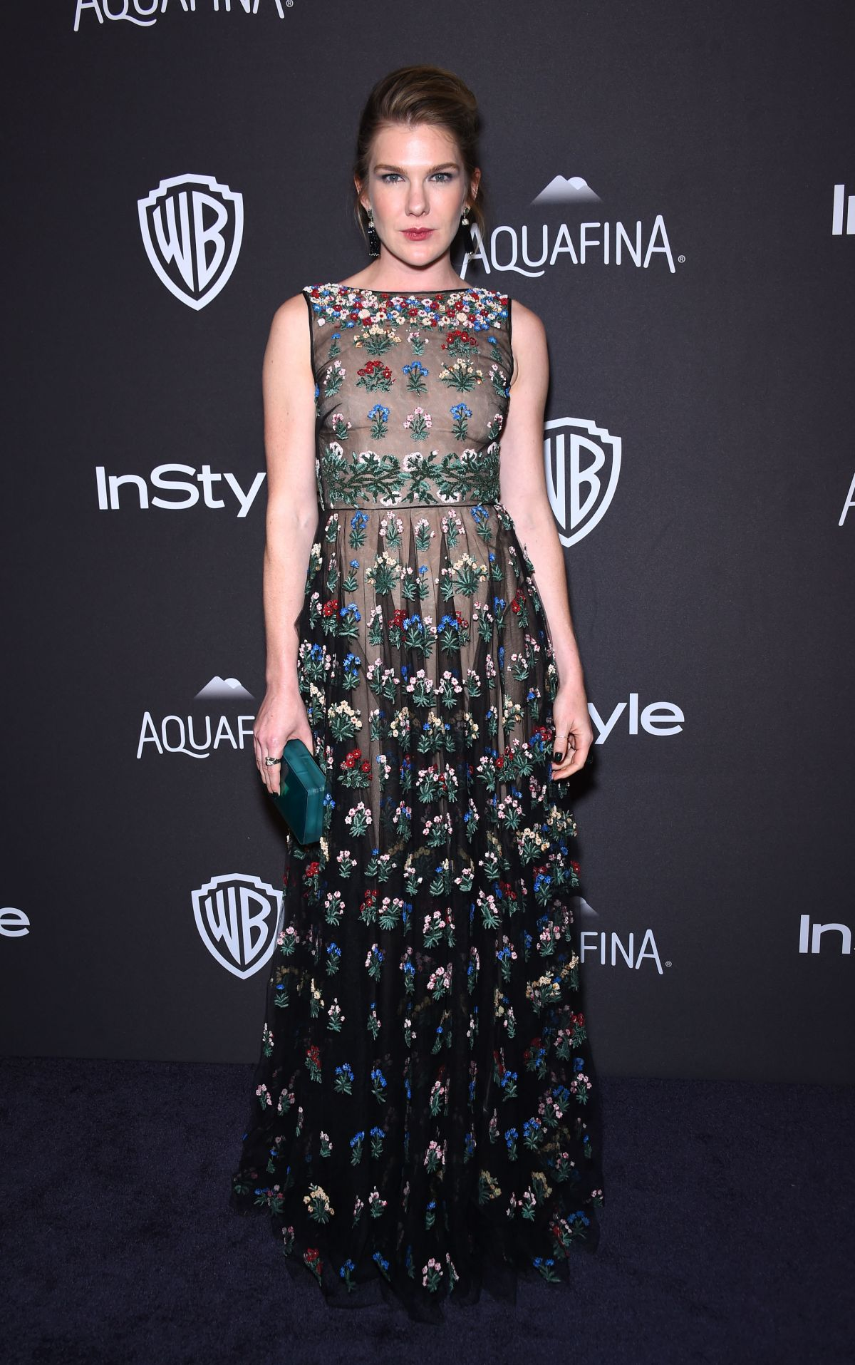 LILY RABE at Instyle and Warner Bros. 2016 Golden Globe Awards Post-party in Beverly Hills 01/10/2016