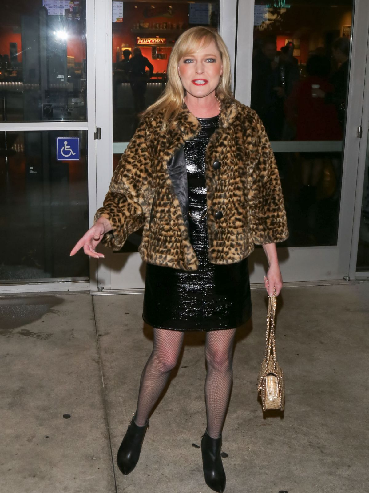 LISA WILCOX at Noho 7 Movie Theater in Los Angeles 01/18 ...