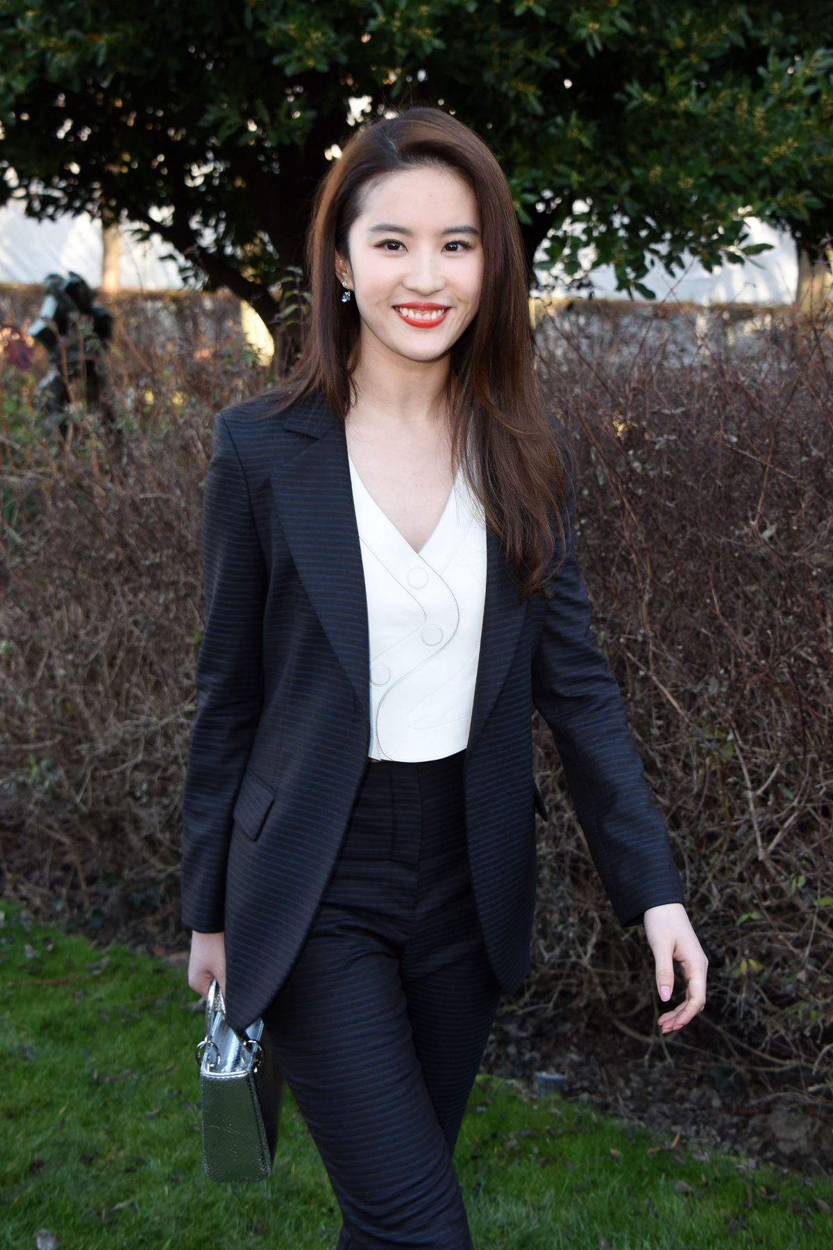 LIU YIFEI at Christian Dior Fashion Show in Paris 01/25/2016