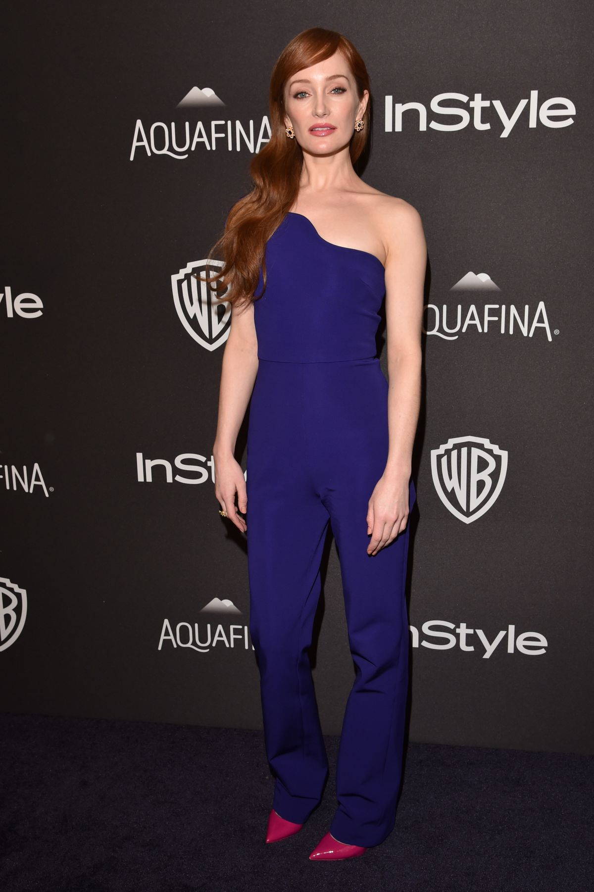 LOTTE VERBEEK at Instyle and Warner Bros. 2016 Golden Globe Awards Post-party in Beverly Hills 01/10/2016