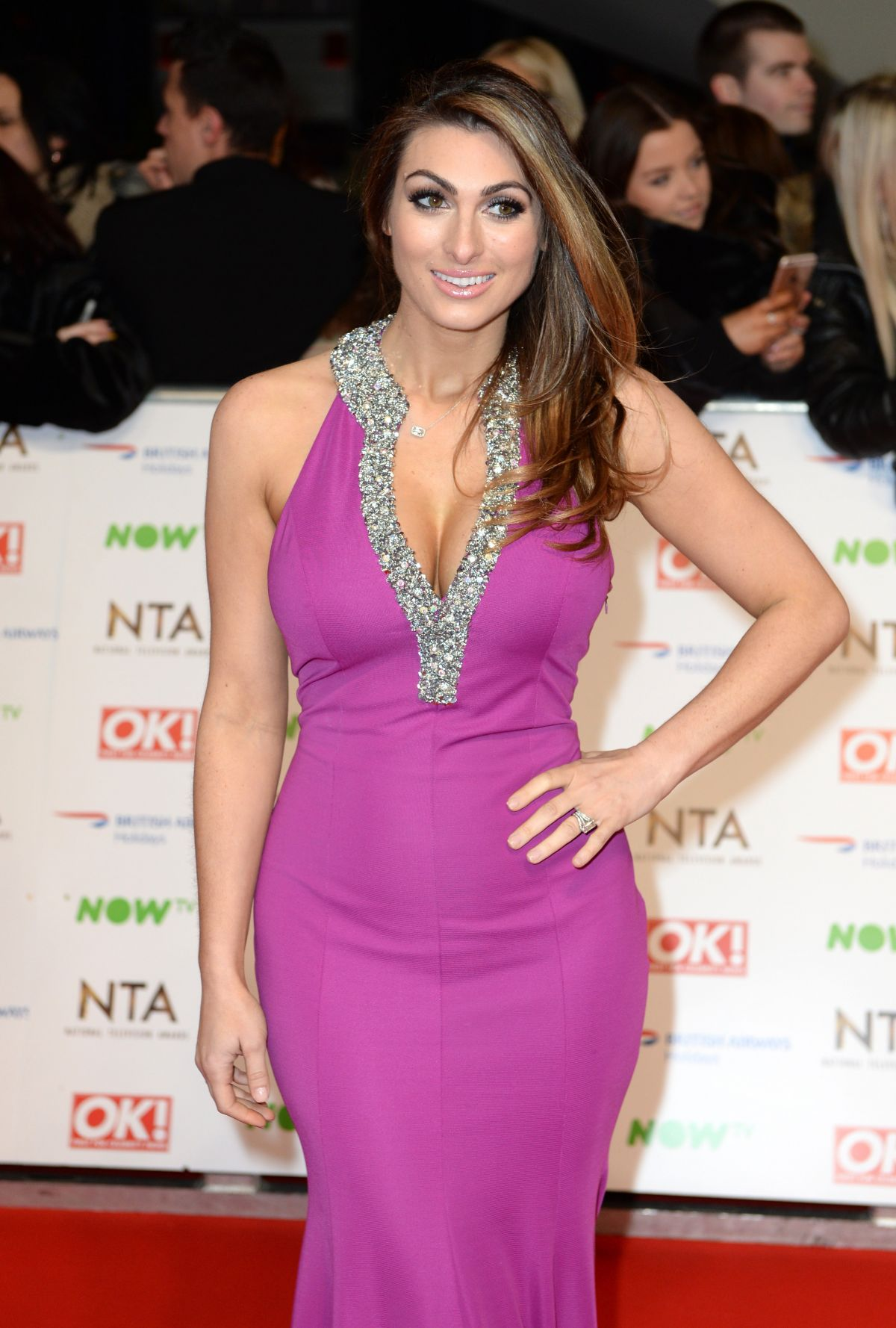 LUISA ZISSMAN at 2016 National Television Awards in London 01/20/2016