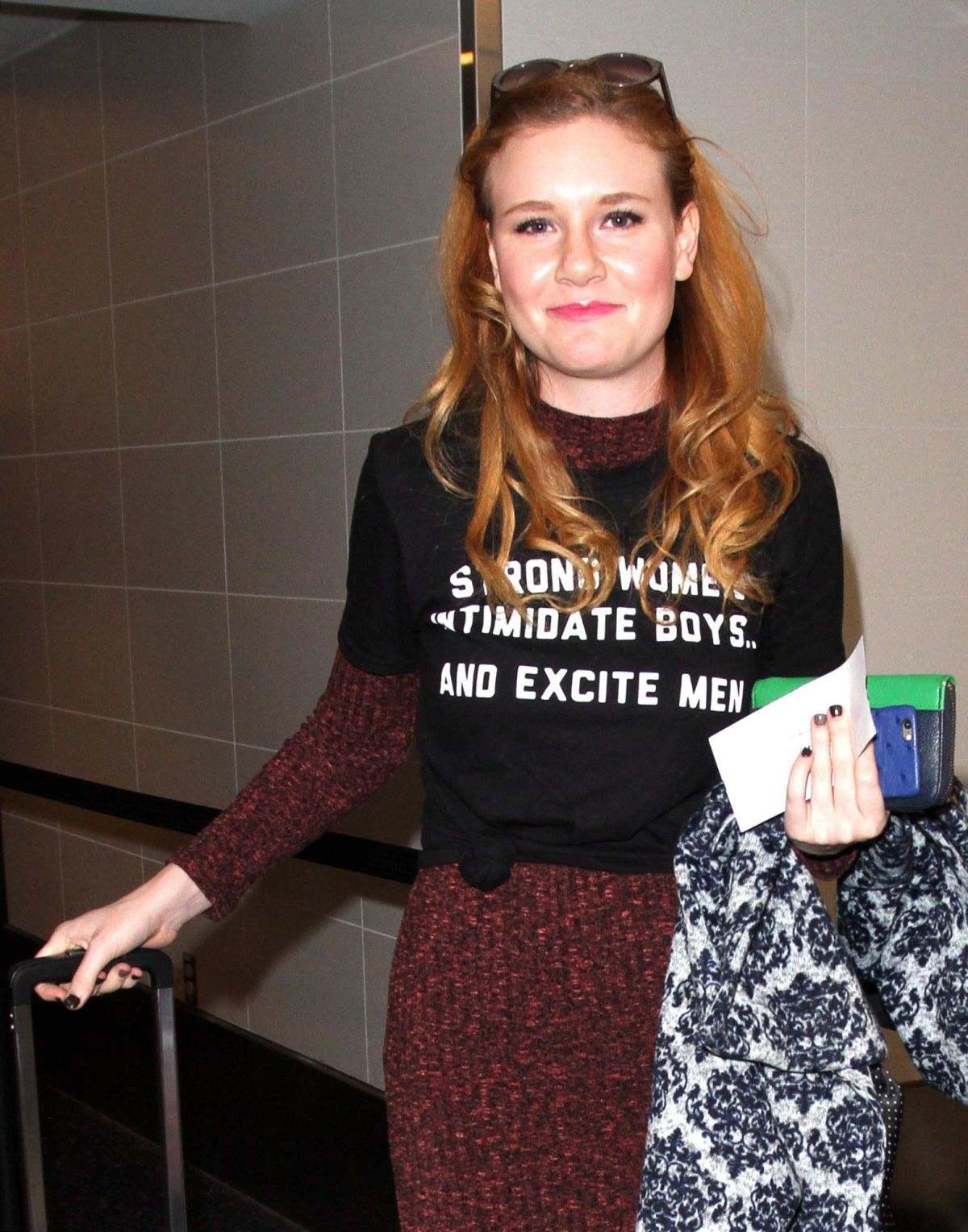 MADISEN BEATY at LAX Airport in Los Angeles 01/21/2016