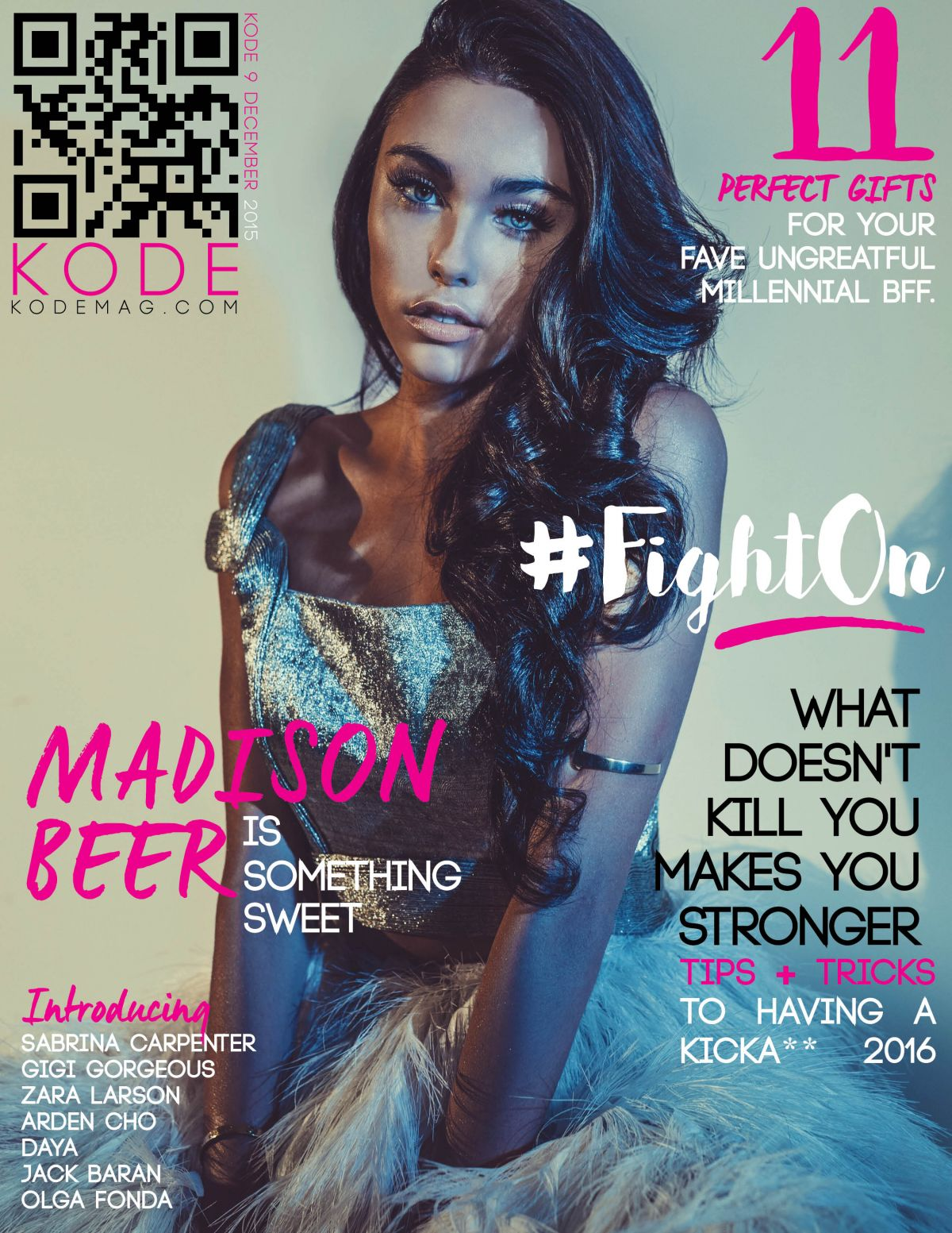 MADISON BEER in Kode Magazine, December 2015 Issue