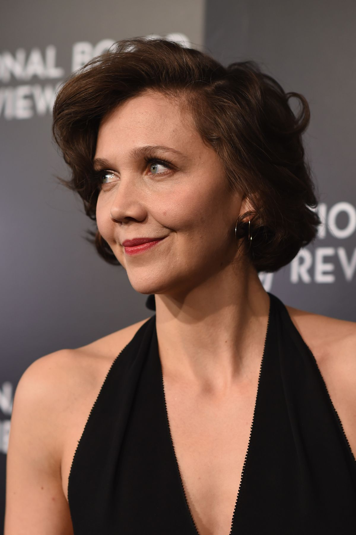 MAGGIE GYLLENHAAL at 2015 National Board of Review Gala in ... Maggie Gyllenhaal