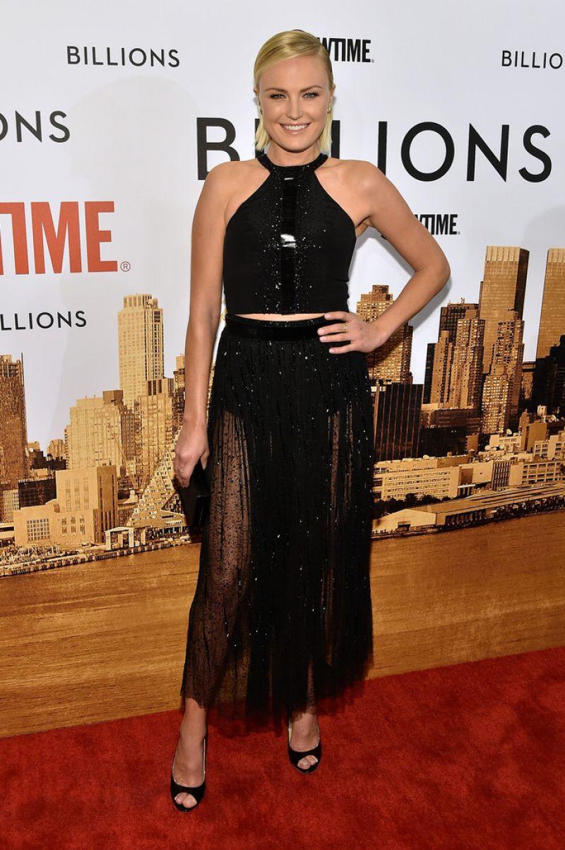 MALIN AKERMAN at Billions Series Premiere in New York 01 ... Malin Akerman Billions