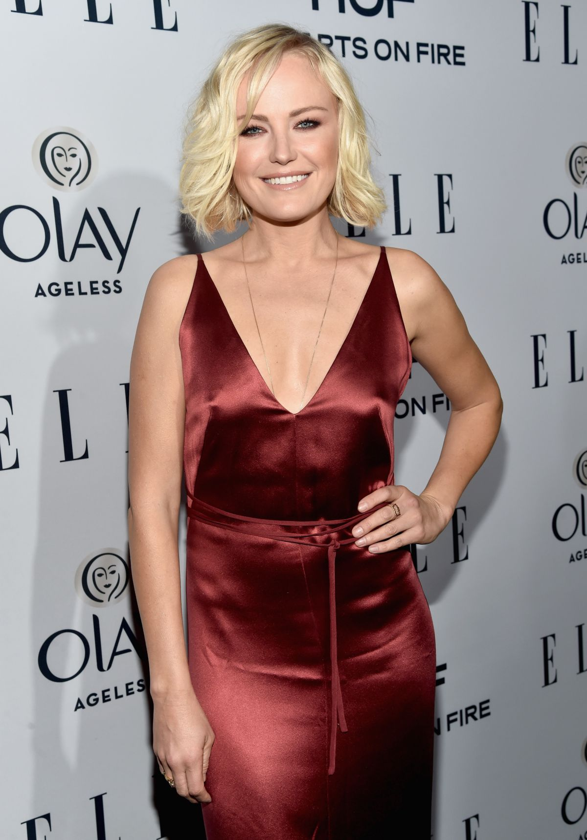 MALIN AKERMAN at Elle