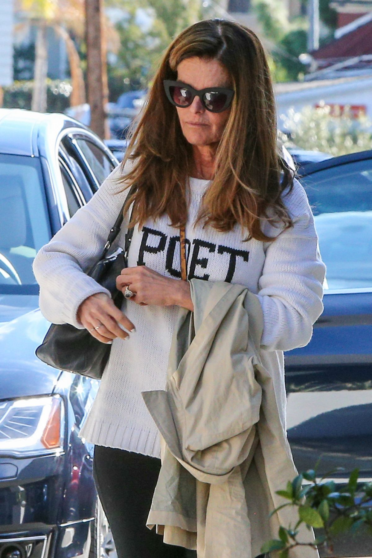 MARIA SHRIVER Out and About in Brentwood 01/08/2016