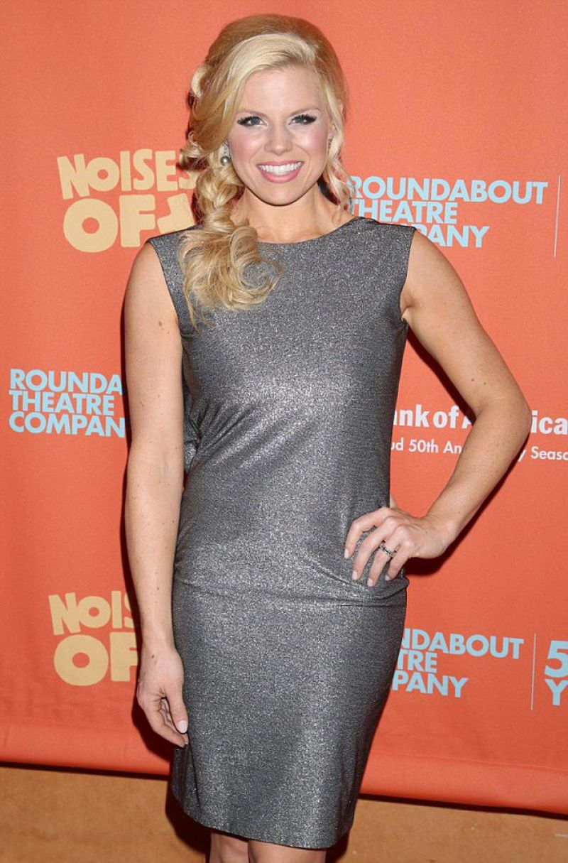 MEGAN HILTY at Noise Off Opening Party in New York 01/13/2016