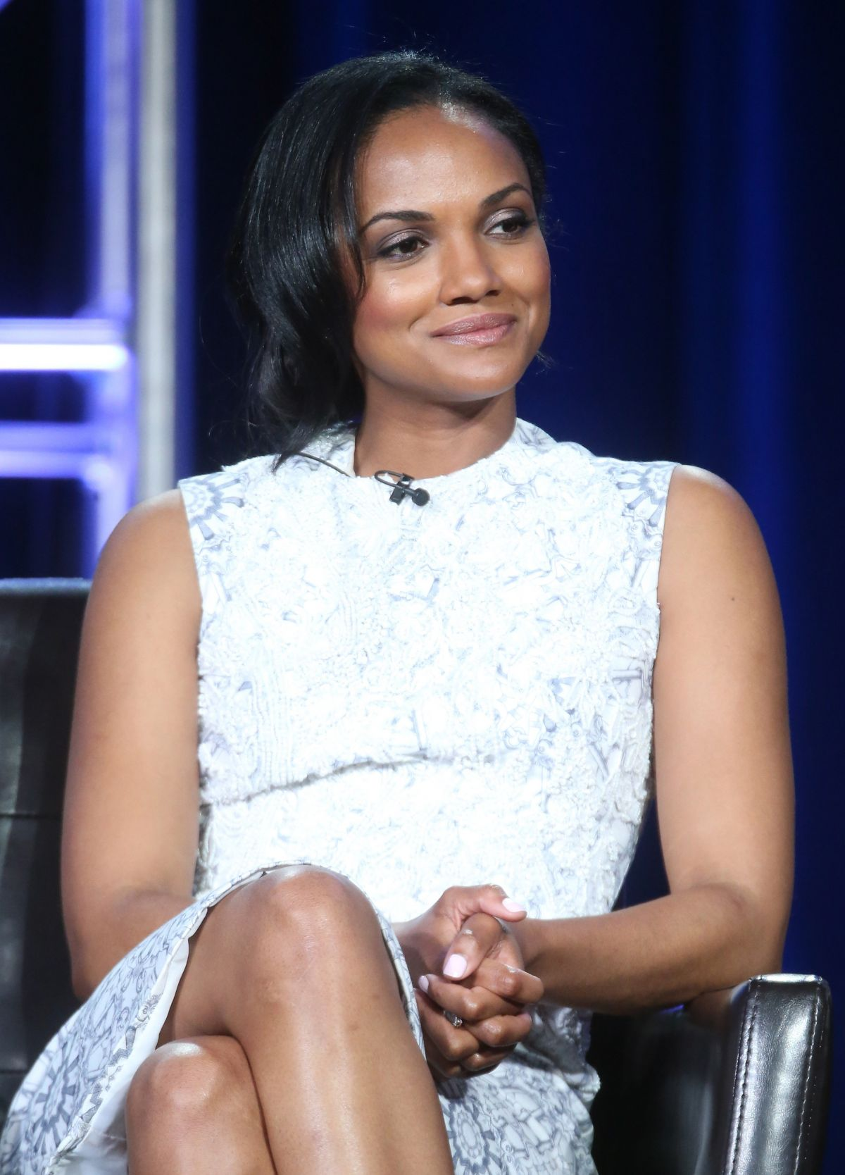 MEKIA COX at Secrets and Lies Panel at 2016 Winter TCA Tour in Pasadena 01/09/2016