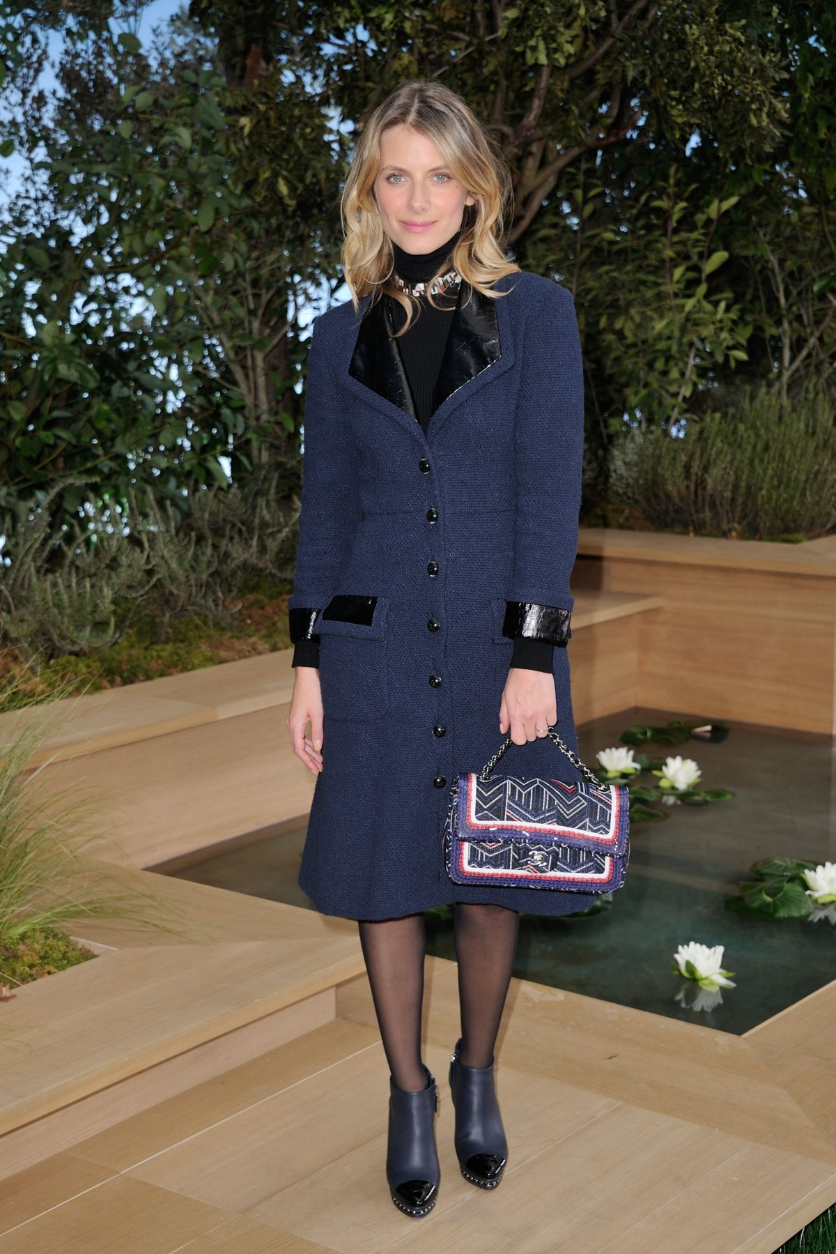 MELANIE LAURENT at Chanel Fashion Show in Paris 01/26/2016