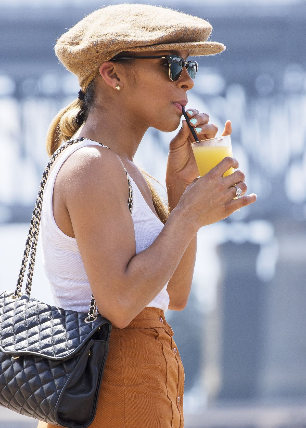 MELODY THORNTON at Opera Bay in Sydney Harbour 01/21/2016