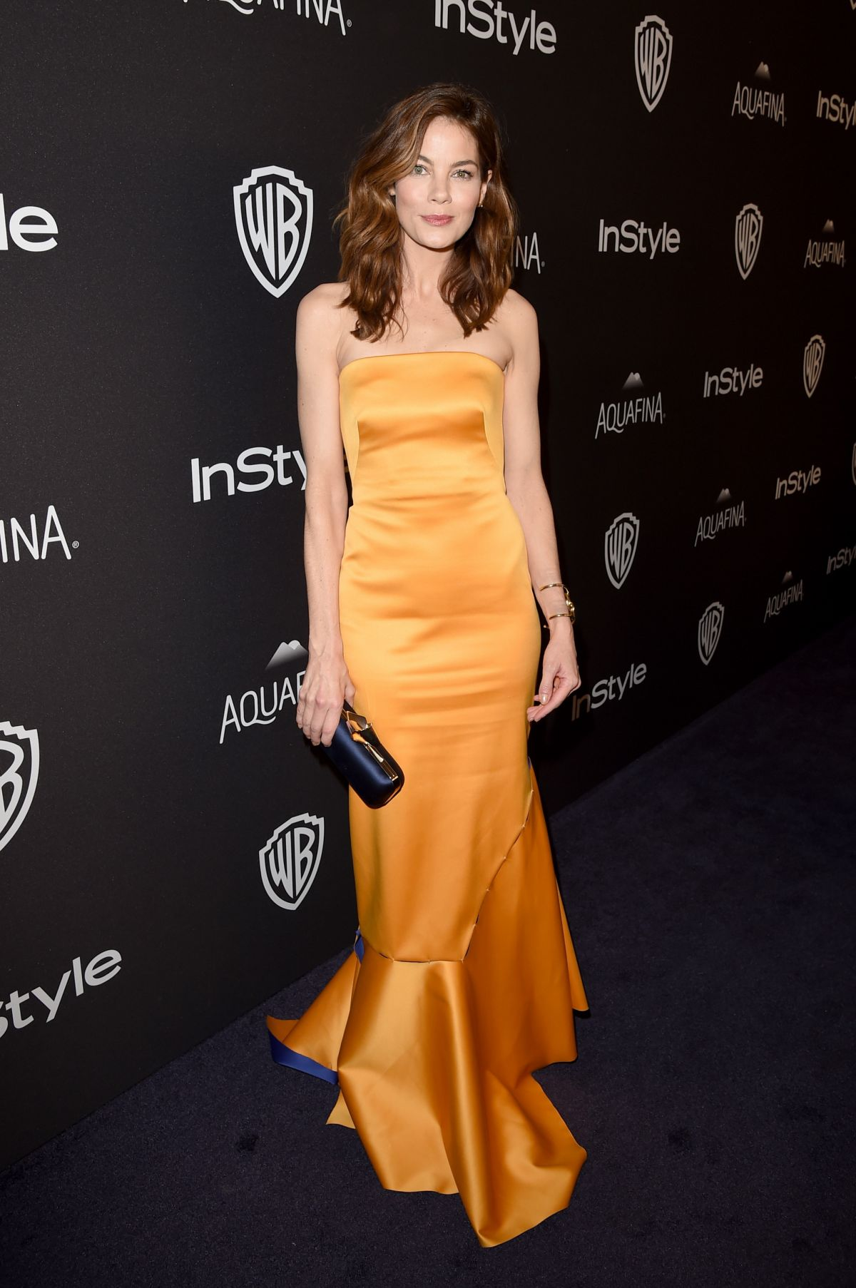 MICHELLE MONAGHAN at Instyle and Warner Bros. 2016 Golden Globe Awards Post-party in Beverly Hills 01/10/2016