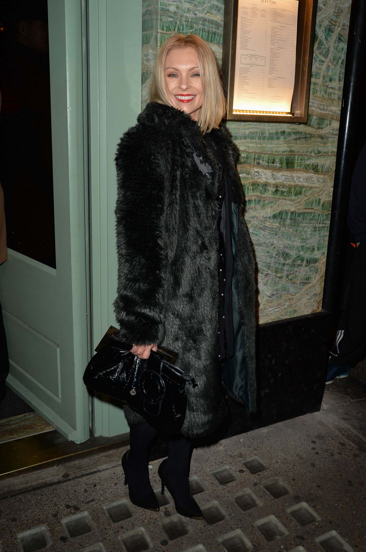 MYANNA BURING at a Private Dinner of Creme De La Mer in London 01/21/2016