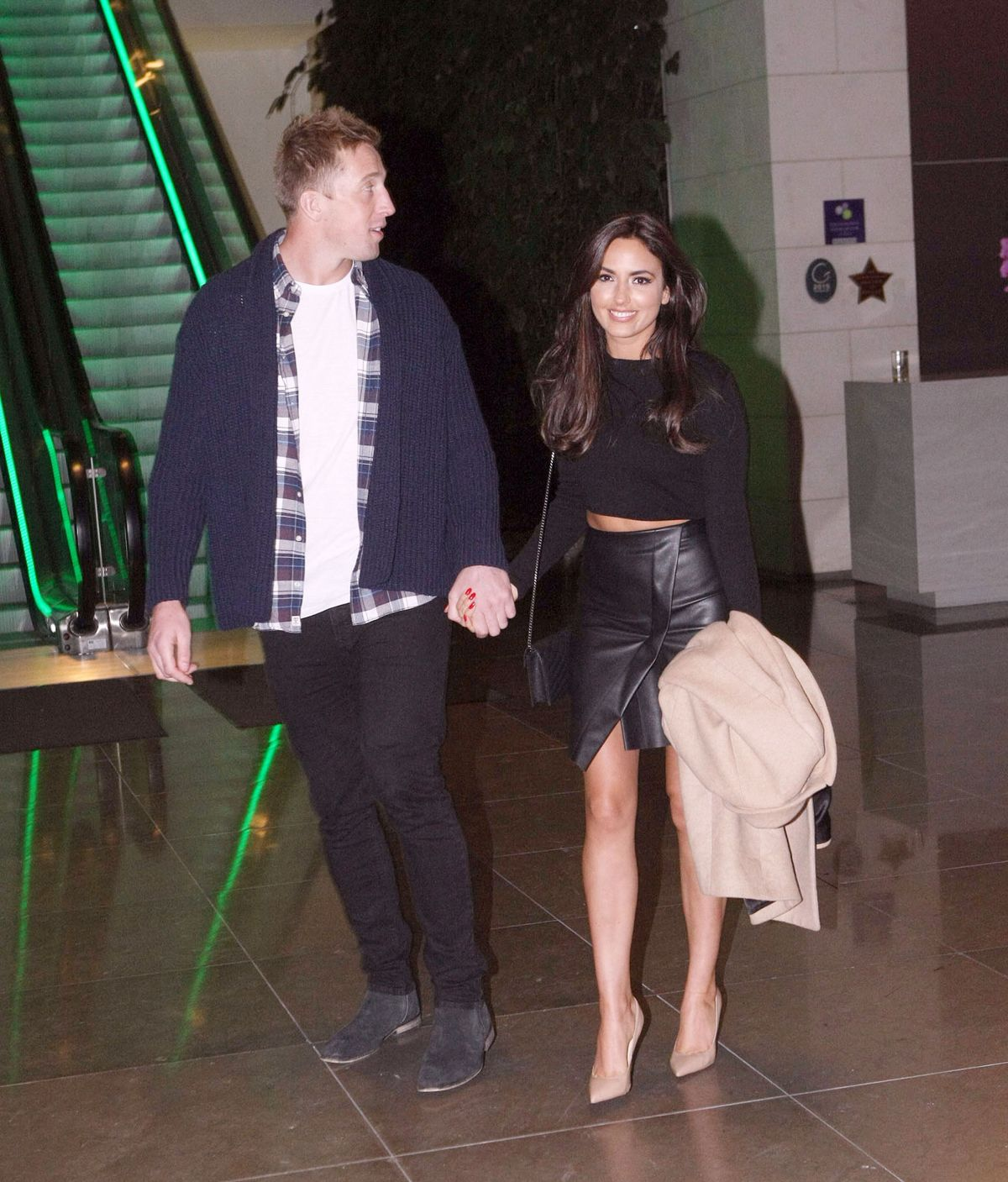 NADIA FORDE Night Out in Dublin 01/16/2016