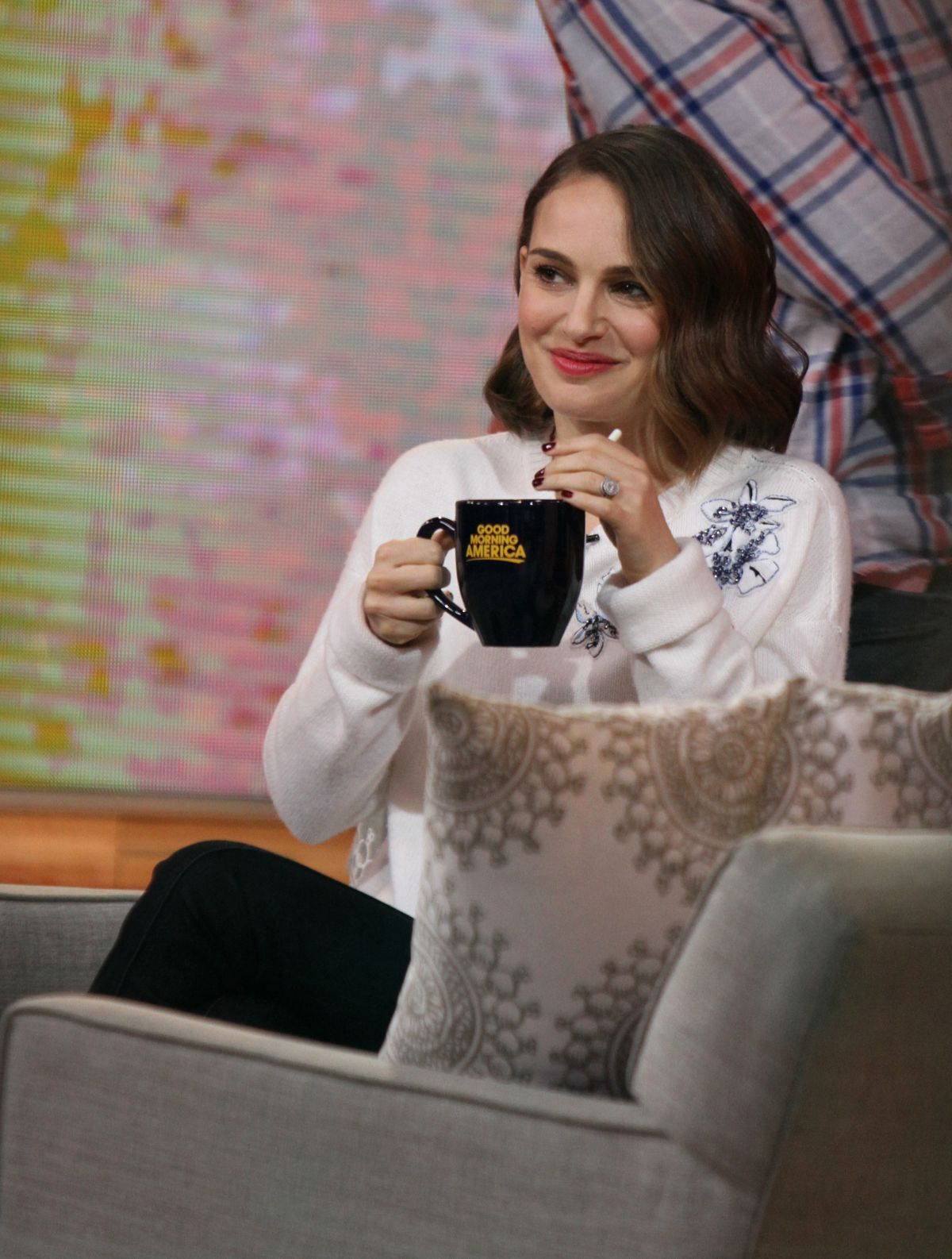 NATALIE PORTMAN at Good Morning America in New York 01/27/2016