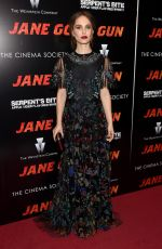 NATALIE PORTMAN at Jane Got A Gun Premiere in New York 01/27/2016