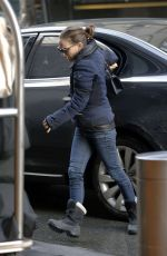 NATALIE PORTMAN in Jeans Out in New York 01/26/2016