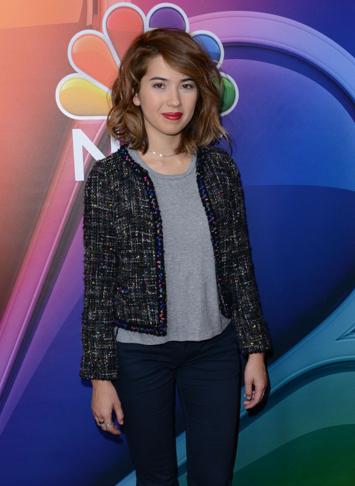 NICHOLE BLOOM at NBC/Universal 2016 Winter TCA Tour in Pasadena 01/13/2016