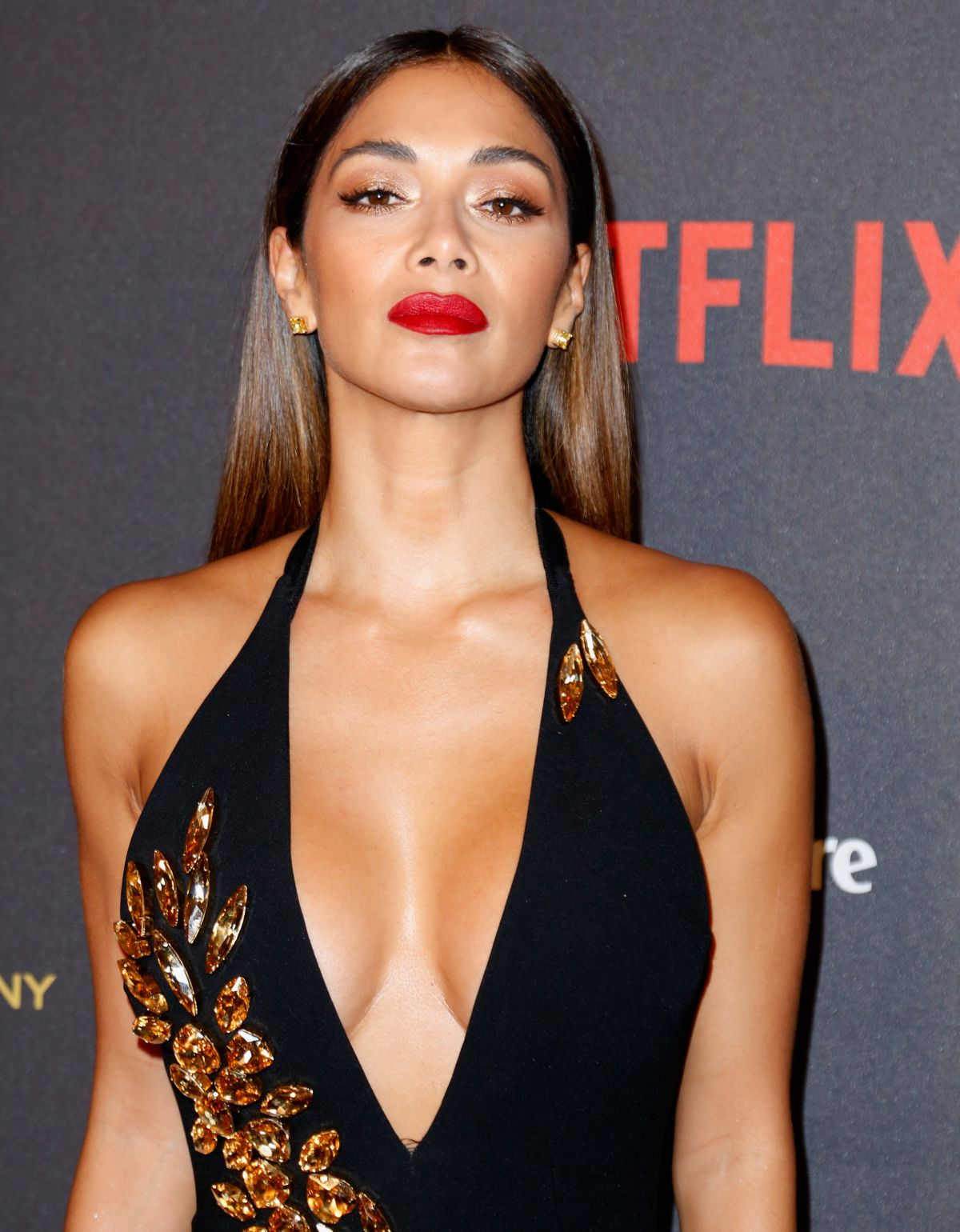 NICOLE SCHERZINGER at The Weinstein Company & Netflix Golden Globe ...