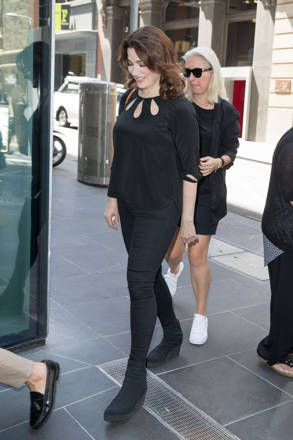 nigella lawson arrives at a restaurant in melbourne 01182016 - Gray Restaurant 2016