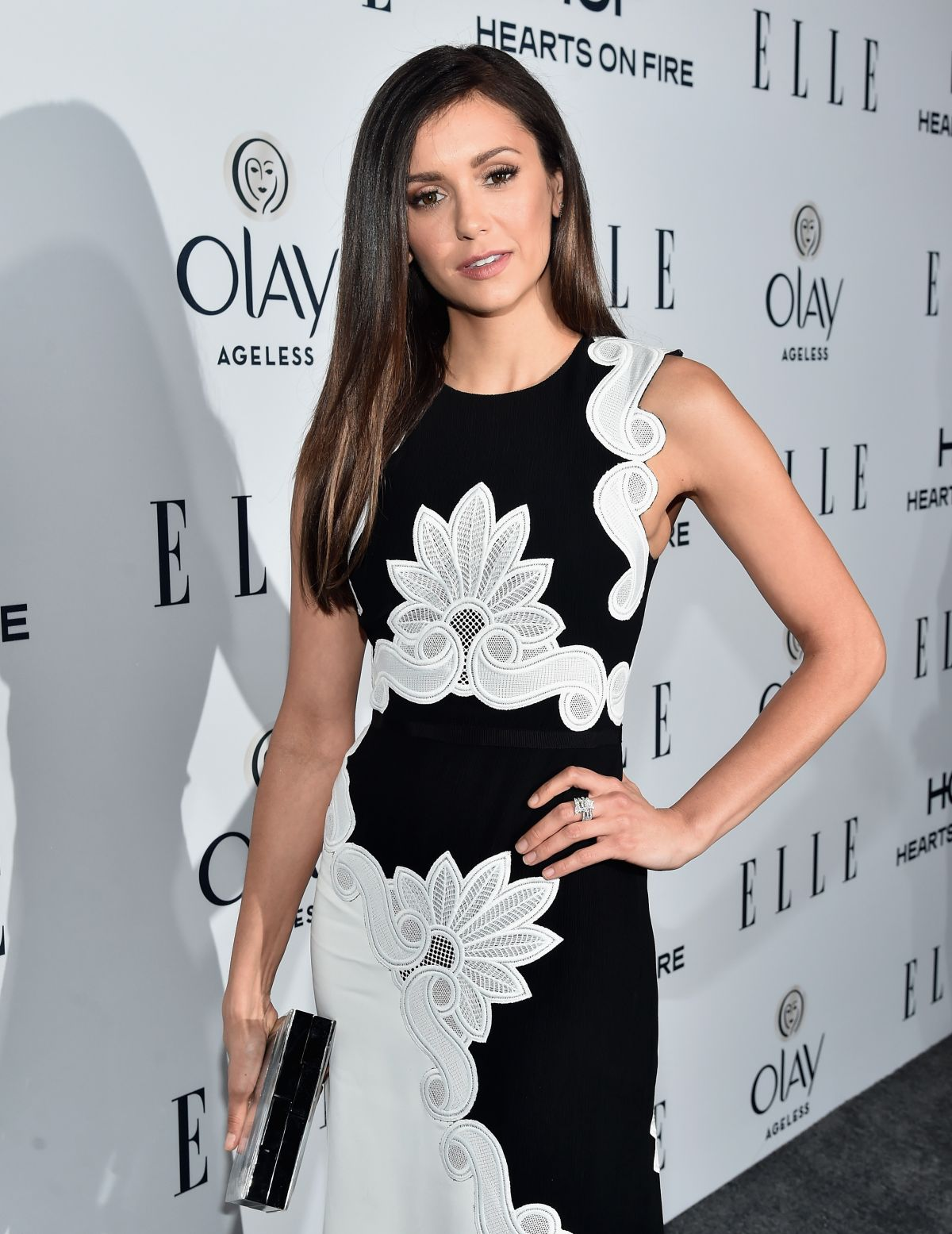 NINA DOBREV at Elle