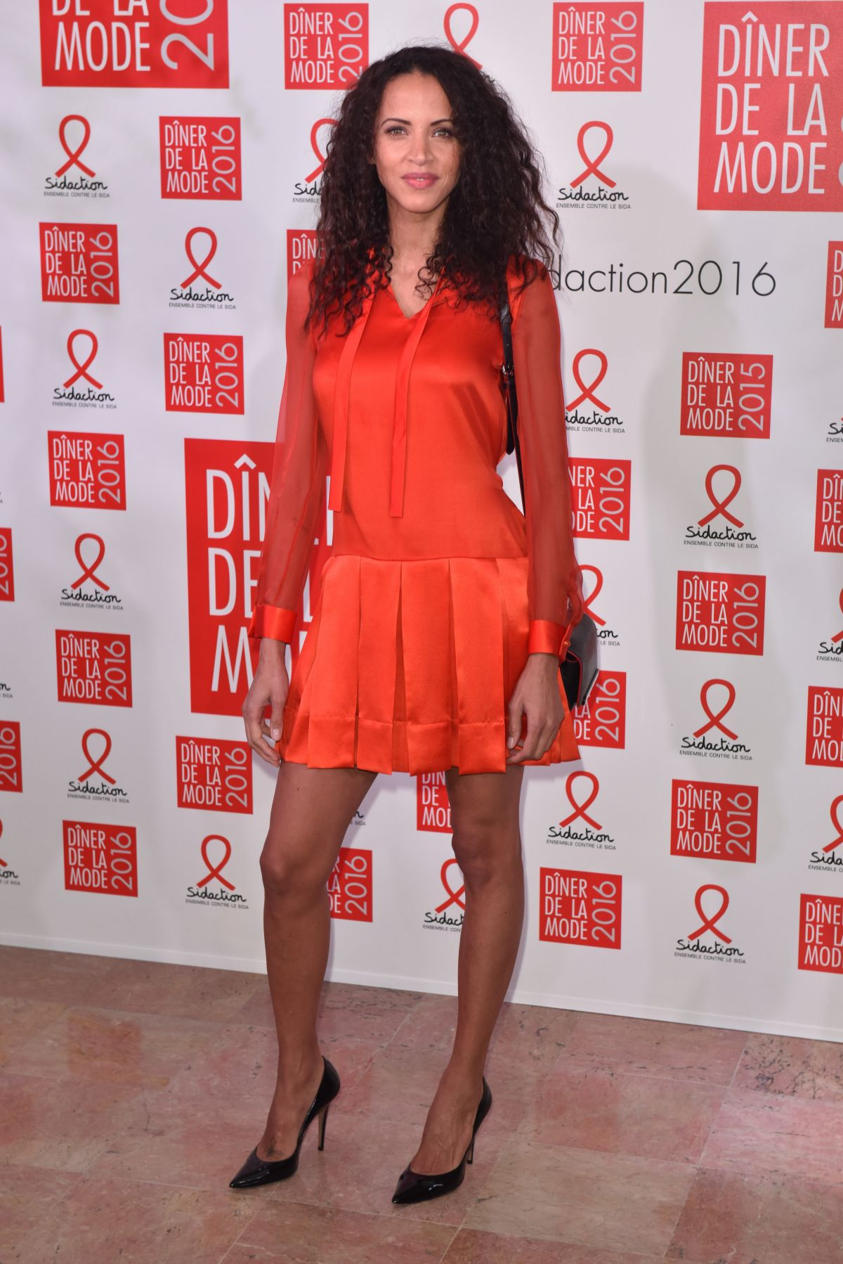 NOEMIE LENOIR at Sidaction Gala Dinner 2016 in Paris 01/28/2016