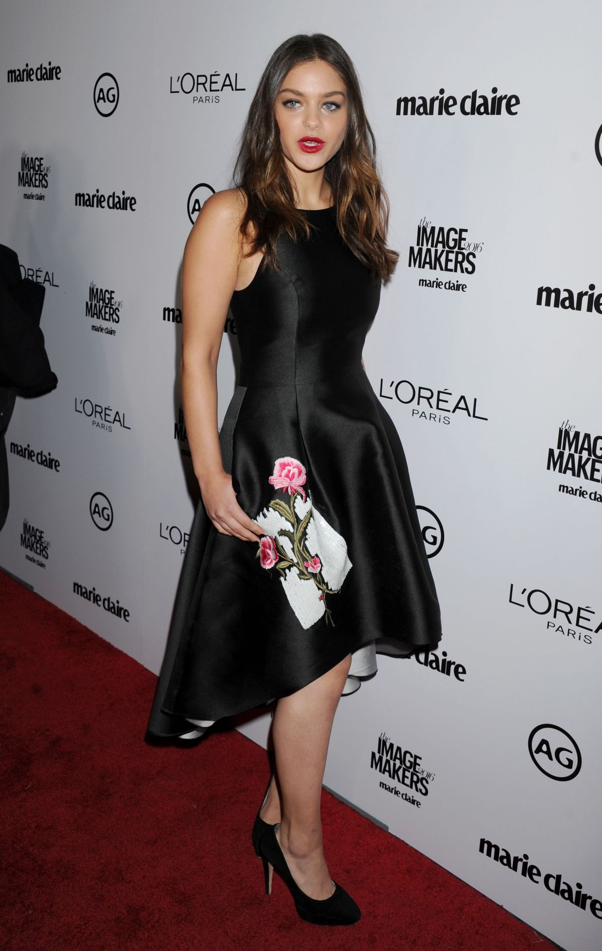ODEYA RUSH at 2016 Marie Claire's Image Makers Awards in Los Angeles 01/12/2016