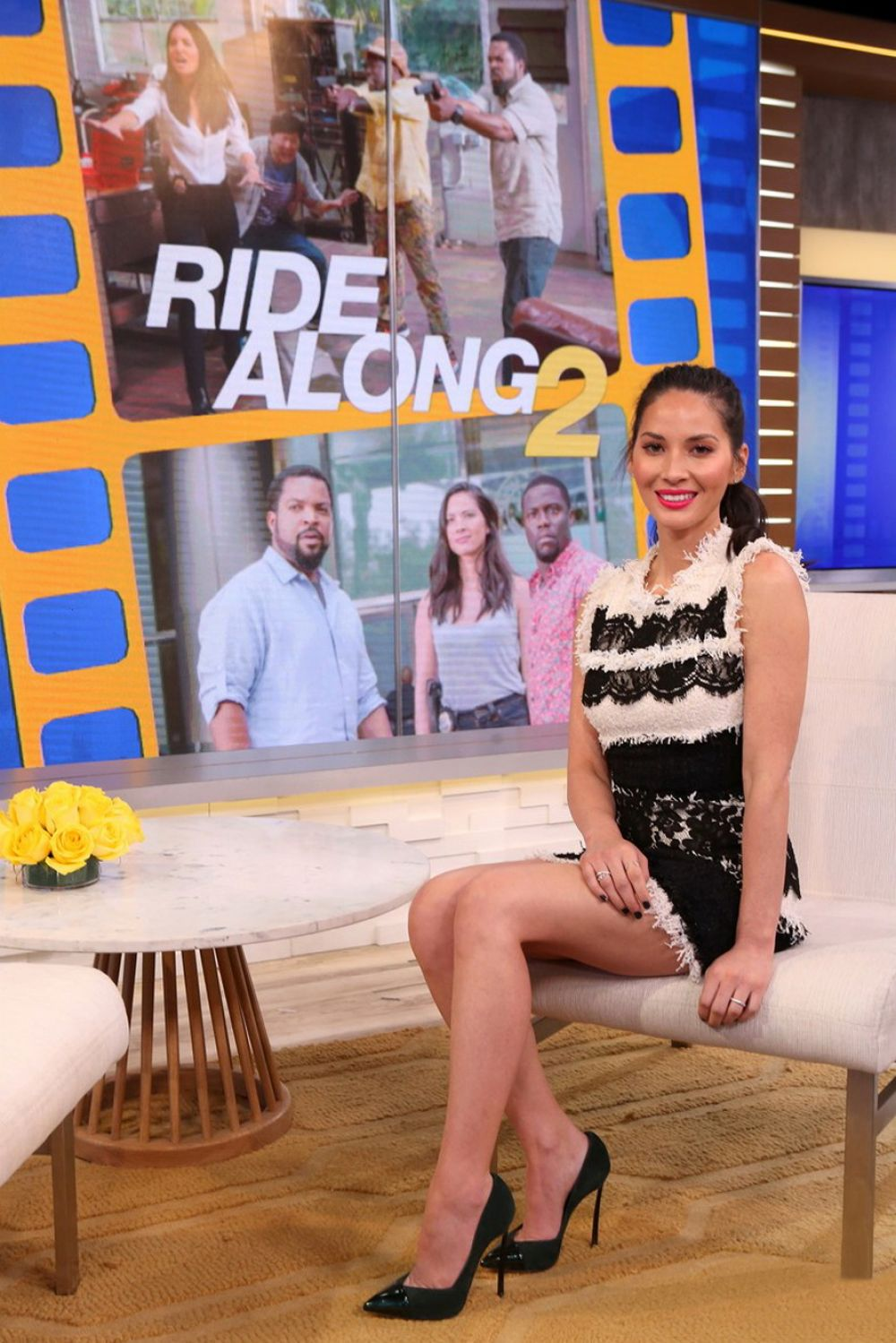 Good Morning America Photos : Olivia munn at good morning america in new york