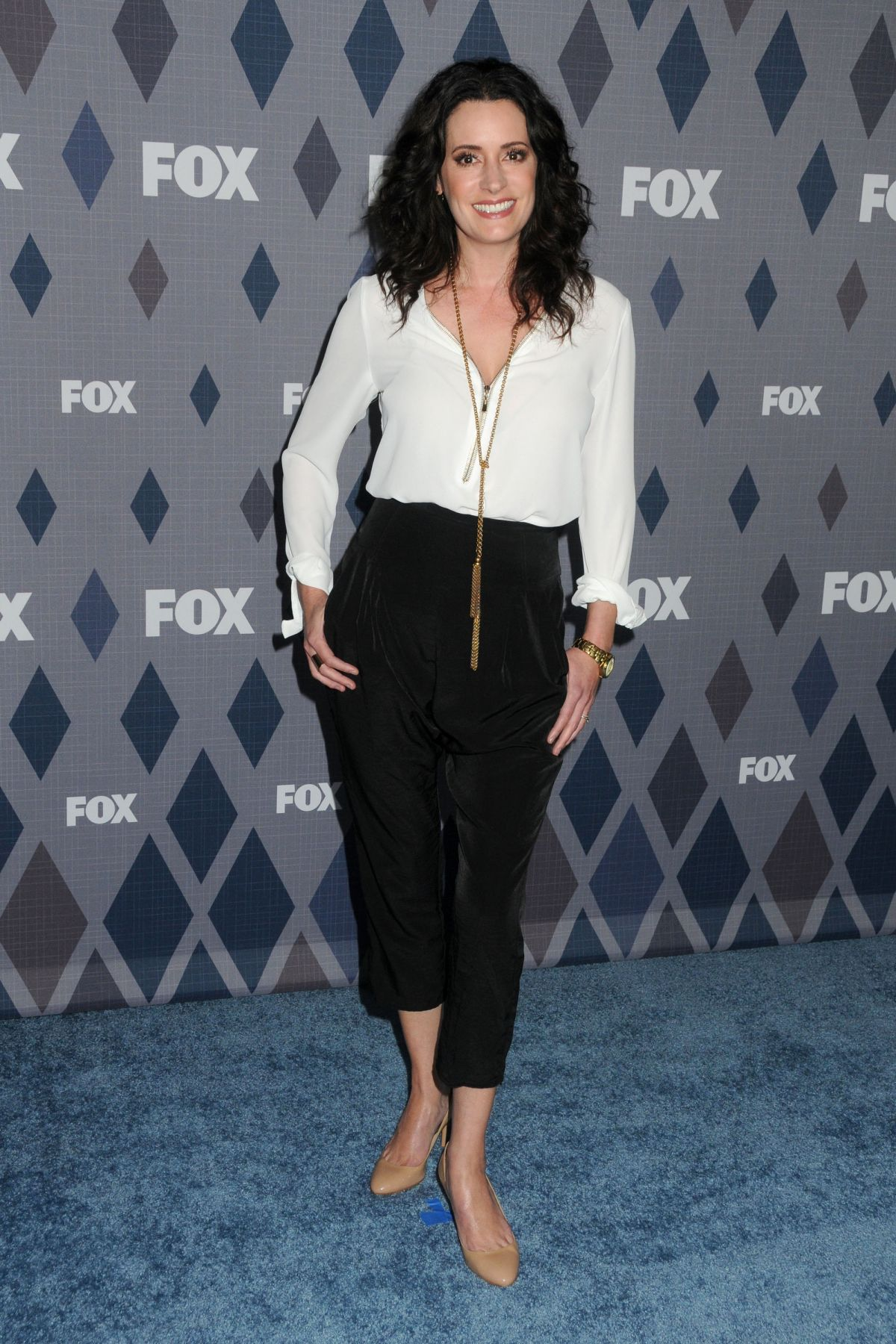 PAGET BREWSTER at Fox Winter TCA 2016 All-star Party in Pasadena 01/15/2016